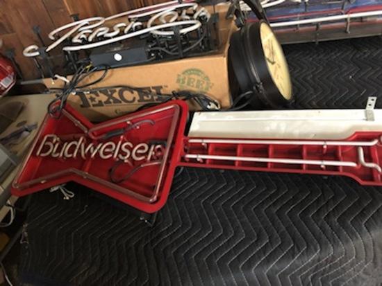 Budweiser Guitar light
