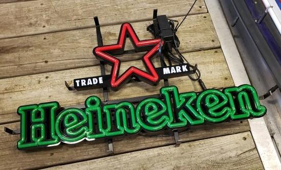 Heineken Beer Sign