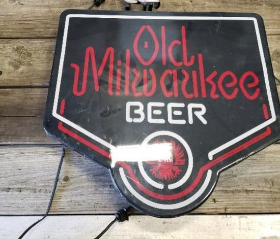 Old Milwaukee Beer Sign