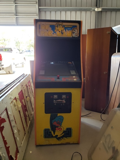 Ms. Pac-Man video 25 cent game