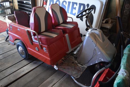 AMF Harley Davidson Electric (2) Passenger golf cart
