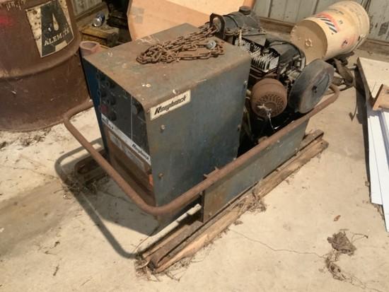 MILLER 12HP gas Kohler Eng. Powered welder/generator, 180 Amp