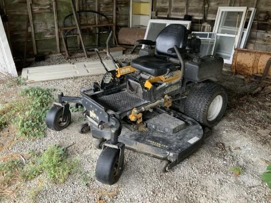 Cub Cadet Tank Commercial Zero Turn mower w/72in mower & 625Hrs