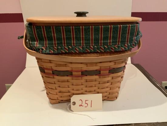 Longaberger Basket 1995 Large Basket