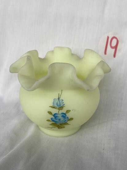 Lime Sherbet  4ín Vase