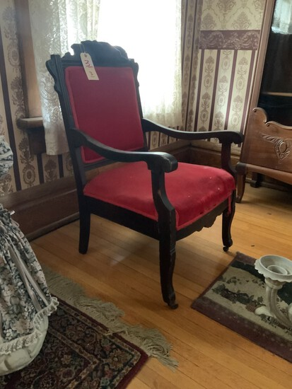 2 piece parlor set with love seat and chair