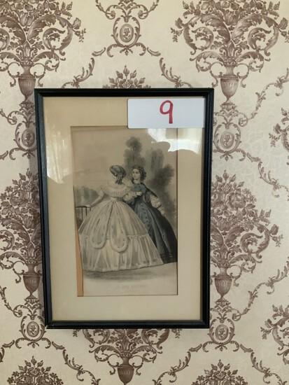 les modes Parisiennes August 1862 (picture)