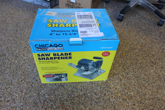 Chicago Electric Power Tools Saw Blade Sharpener