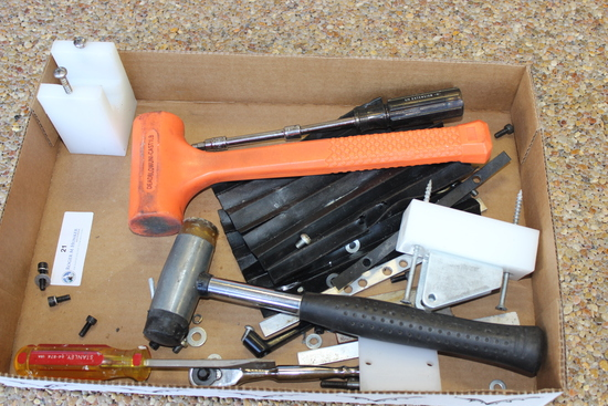 Deadblow Hammer and Misc Tools