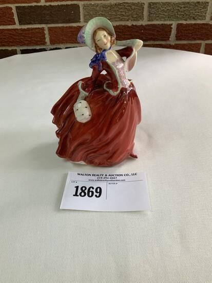 """Royal Doulton """"Autumn Breezes"""" Figurine"""
