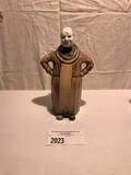 Tiffin American Standard Light Brown Pottery Monk