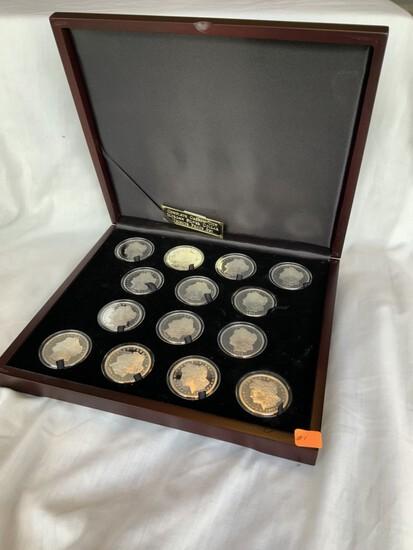 Public Auction - Glassware; Furniture & Coins