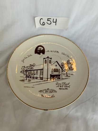AME Church Plate