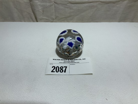 Paperweight, Personalized 1948, Tiffin
