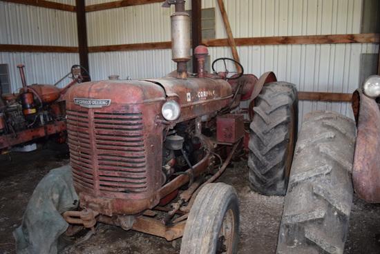 McCormick-Deering W9 Tractor (Not Running)