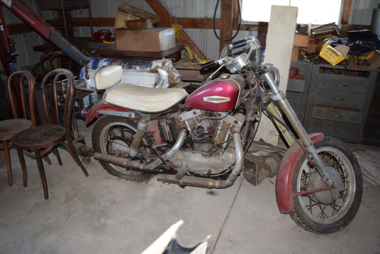 '68 HARLEY ROADSTER (looks complete- Avg. Con'd)