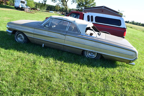 '64 FORD 500 GALAXIE CONVERTIBLE (Restorable)