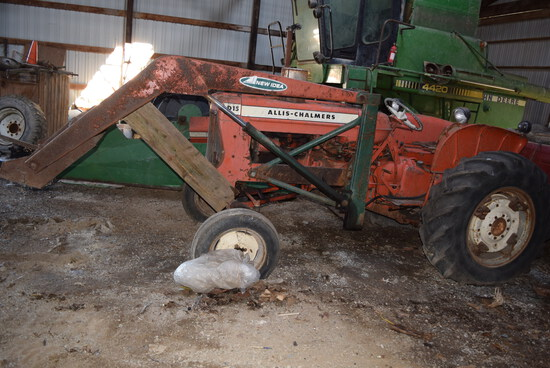 A-C D15 Series II w/open station & NI Loader