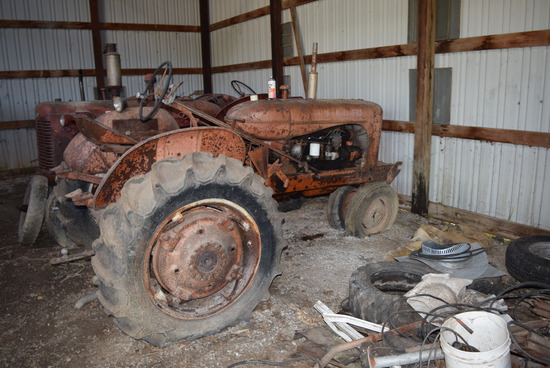 A-C tractor (not running)