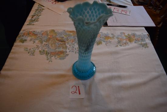 Northwood Glass Tree Trunk Vase