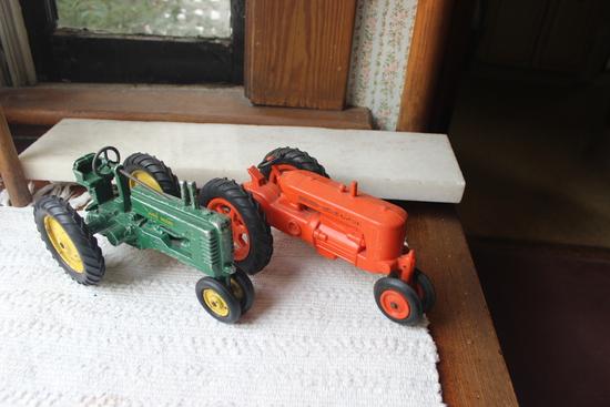 Metal Tractor-John Deere B