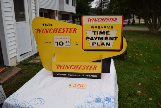 WILT ESTATE AUCTION- WINCHESTER MEMORABILIA