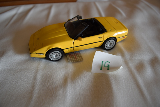 86 Corvette 1:24