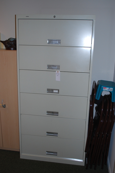 HON 6 Drawer Lateral file