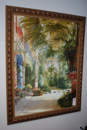 Framed Artwork Atrium Scene