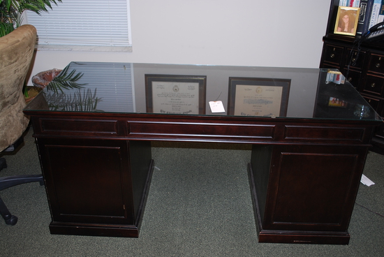 Office Desk & Book Shelf