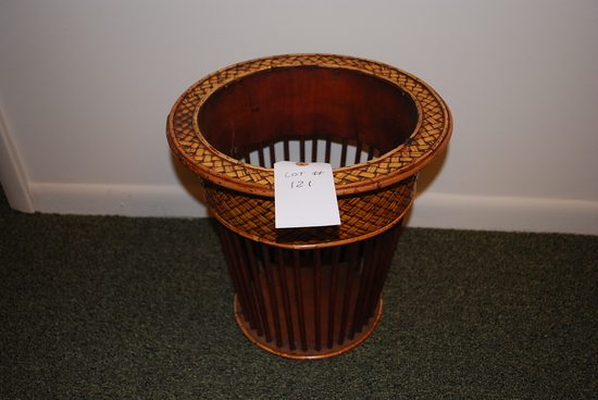 Decorative Wicker / Wood Basket
