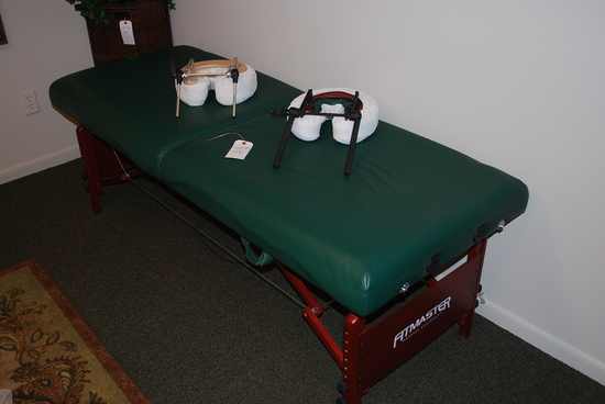FITMASTER Massage Equipment Portable Massage Table