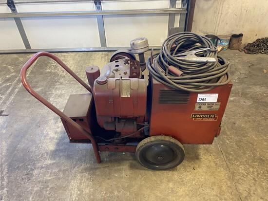 Lincoln welder/generator (mod. Weldon power 150)