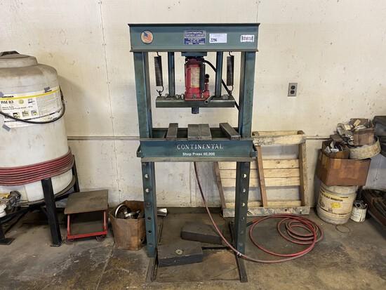 Continental 30T Shop Press