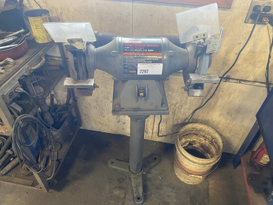 "Craftsman 10"" 2HP bench grinder"