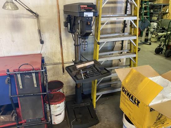 "Craftsman 20"" drill press 2HP/12 speed"