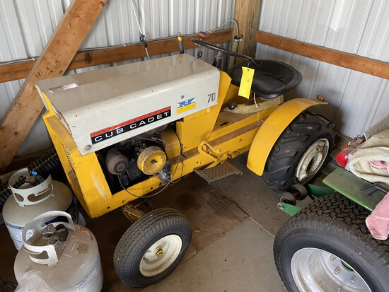 Cub Cadet 70 tractor only (not a puller)