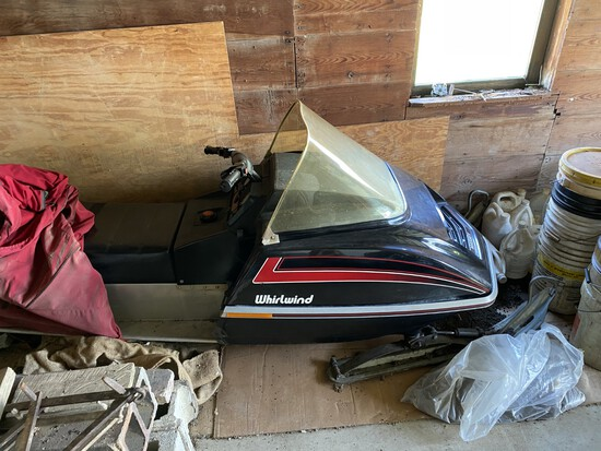Massy 340 Snow Mobile, 409 mi., Cuyna Eng., Very Good Shape