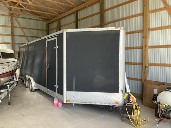SuperLite tandem axle enclosed trailer (8'x24')