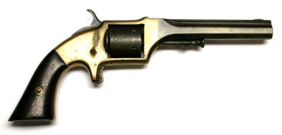 Civil War era E.A. Prescott .32 RF Belt Single-Action Revolver - Antique - no FFL needed (JEK)