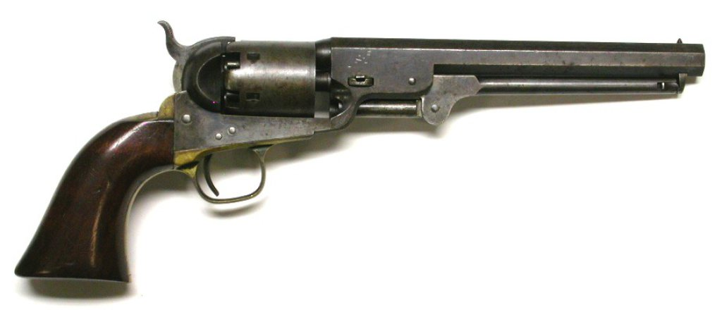 Colt Model 1851 Navy .36 Caliber Single-Action Percussion Revolver - Antique - no FFL needed (SLH)