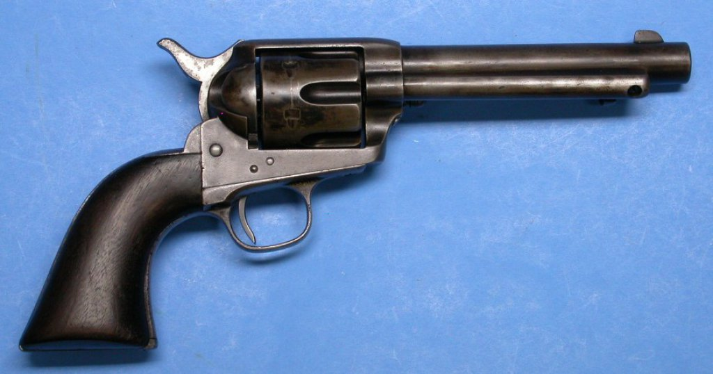 "US Army Colt M1873 .45 Caliber ""Artillery"" Single Action Revolver - Antique - no FFL needed (SLH)"