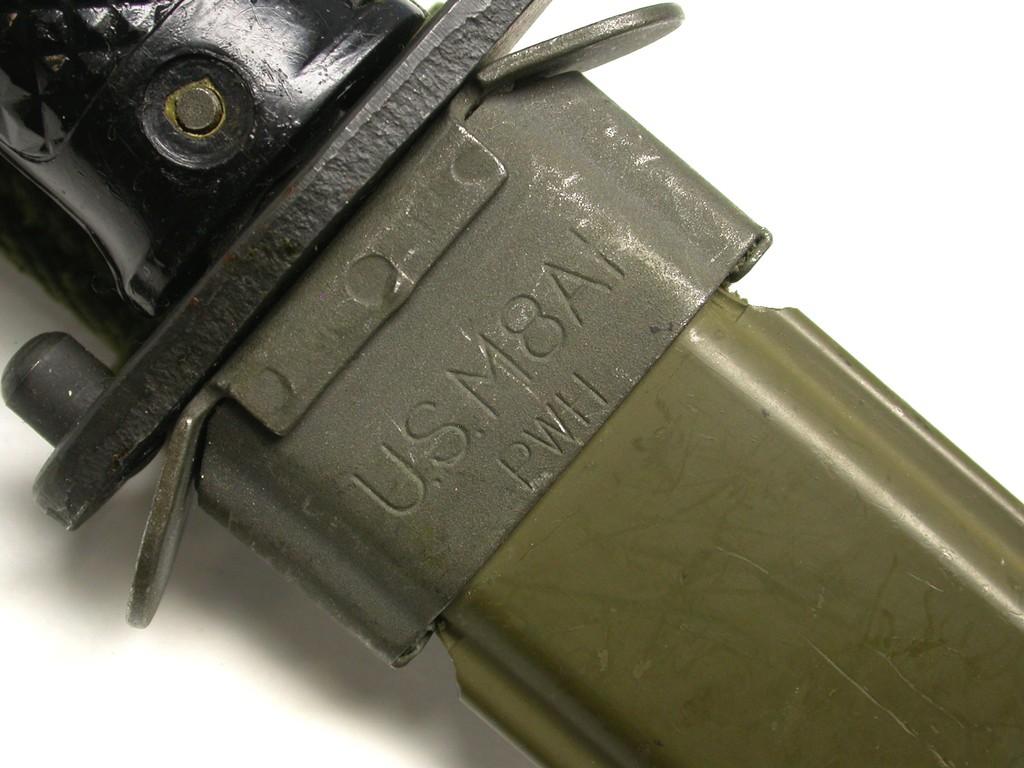 Lot: US - South Korean Military M5A1 M1 Garand Bayonet (A