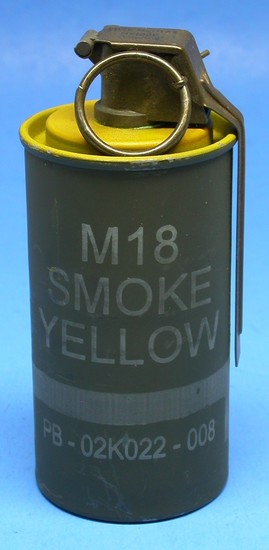 US Military M18 Smoke Grenade     Auctions Online | Proxibid