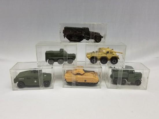 Six Assorted Military Matchbox    Auctions Online | Proxibid