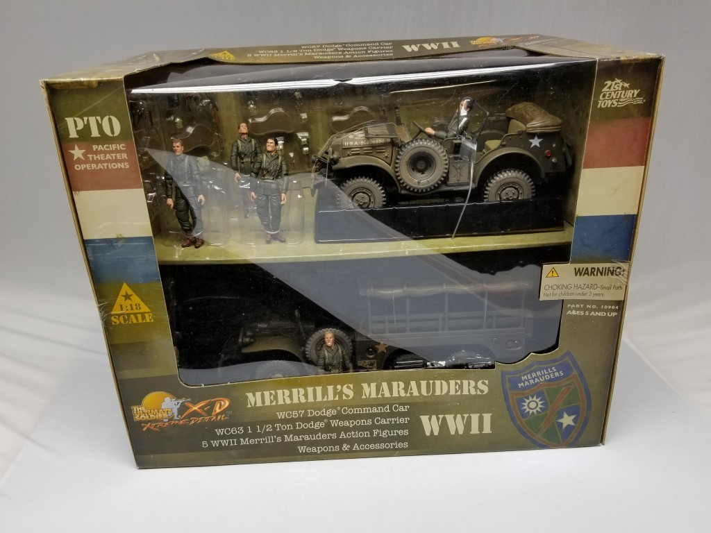Ultimate Soldier 1:18 Dodge Command Car WC57