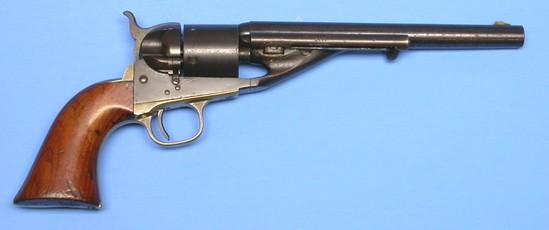 Colt M1860 .44 Caliber Richards Conversion Single-Action Revolver - Antique - no FFL needed (A1)
