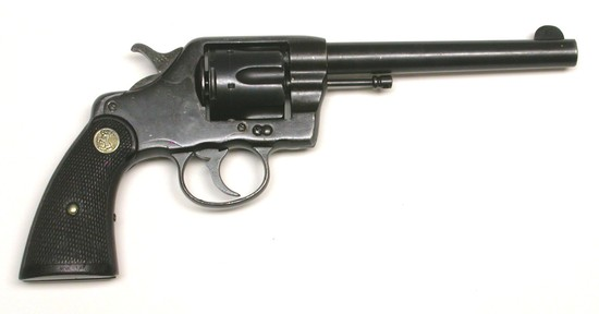 US Navy Colt M1895 .38 Colt Double-Action Revolver - Antique - no FFL needed (XJE1)