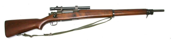 US Military WWII Remington M1903/A4 30-06 Bolt-Action Sniper Rifle - FFL # 3407212 (RLR)