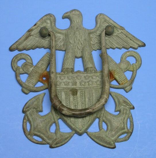 US Navy Brass Door Knocker (KID)
